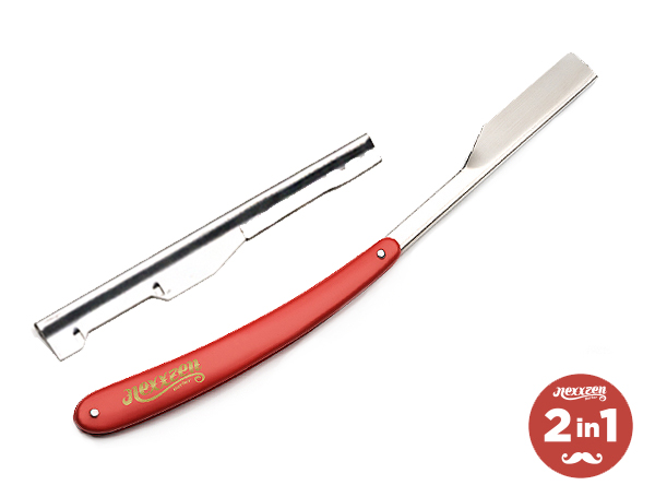 Nexxzen Professional 2 IN 1 Razor Red